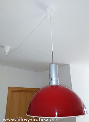 lampara roja