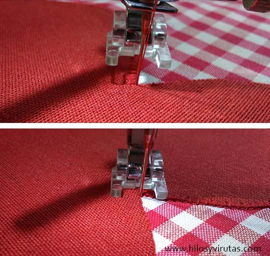 coser aplicacion punto feston