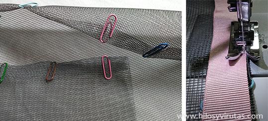 coser cinta grogue groguen grosgrain