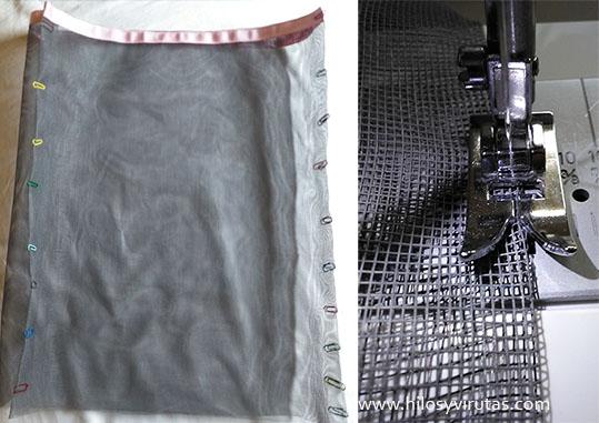 coser pliegues