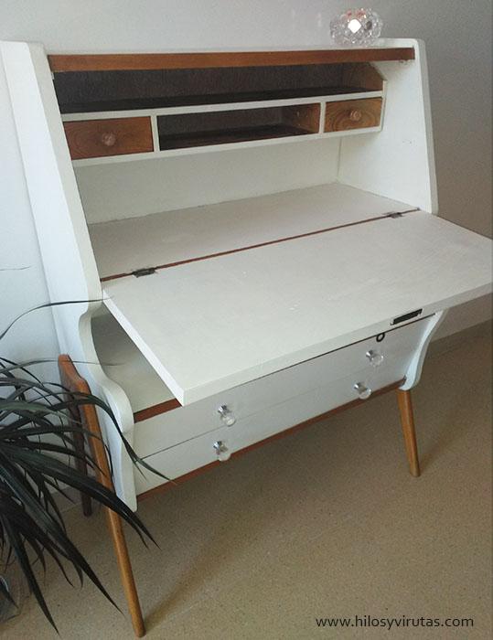 escritorio secreter midcentury