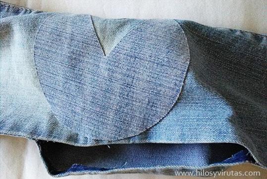 abrir costura pantalon coser aplicacion