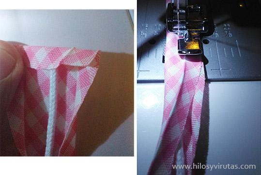 confeccionar vivo cordón