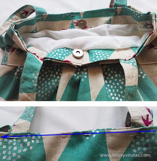 coser forro a bolso