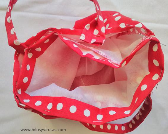 coser forro al bolso