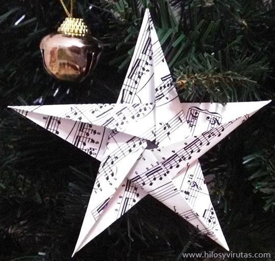 estrella 5 puntas partitura