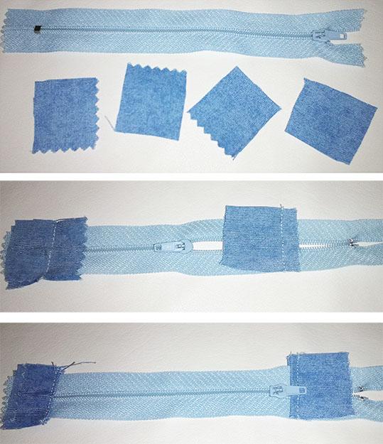 coser cremallera topes