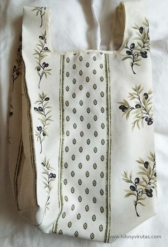 bolsa de la compra tela