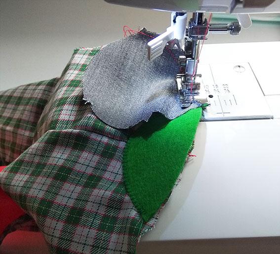 coser cascos elefante trapo