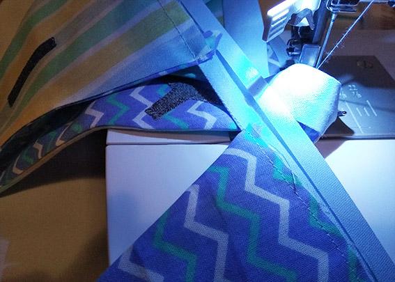 coser banderines a cinta bies