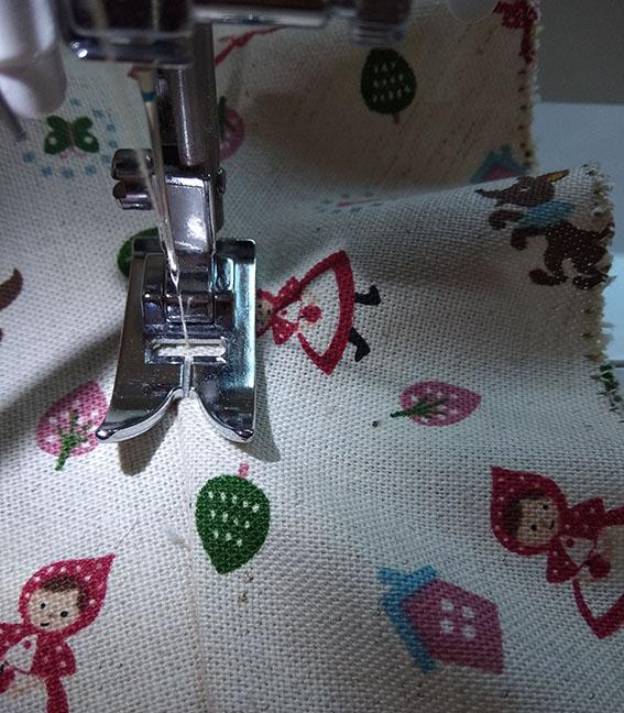 coser understitching