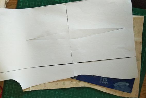 marcar pinzas papel calco