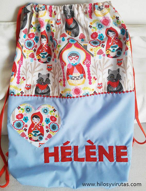 Helene tela matrioska caperucita roja