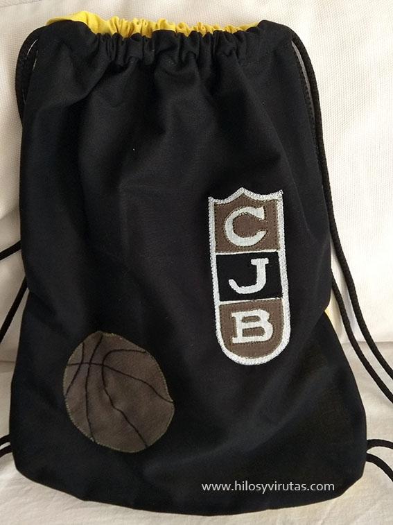 mochila penya club juventut badalona basquet