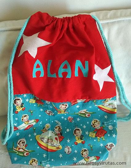 mochila Alan aplicaciones